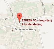 STREEK 56 kaart Schiermonnikoog